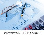 business and financial concept... | Shutterstock . vector #1041563023