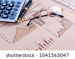 business and financial concept... | Shutterstock . vector #1041563047