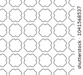 seamless geometric ornamental... | Shutterstock .eps vector #1041568537