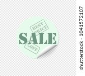 sale sticker. special offer... | Shutterstock .eps vector #1041572107