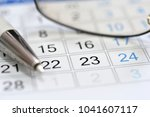 calendar scheduler in the... | Shutterstock . vector #1041607117