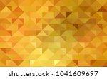 light orange vector polygon... | Shutterstock .eps vector #1041609697