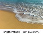 sea waves in the sand | Shutterstock . vector #1041631093
