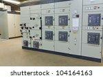 Electric Voltage Control Room...