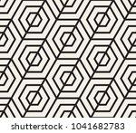 vector seamless pattern. modern ... | Shutterstock .eps vector #1041682783
