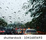 the time your car stuck in the... | Shutterstock . vector #1041685693