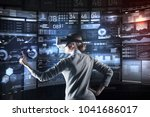 excellent. calm attentive...   Shutterstock . vector #1041686017