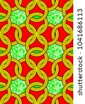 textile fashion african print...   Shutterstock .eps vector #1041686113