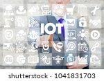 internet of things. iot. smart... | Shutterstock . vector #1041831703