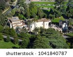 aerial drone view of the... | Shutterstock . vector #1041840787