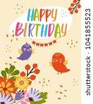 vector illustration of a... | Shutterstock .eps vector #1041855523