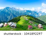 pokut plateau rize camlihemsin... | Shutterstock . vector #1041892297