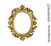 picture frame  old bronze | Shutterstock . vector #1041895627