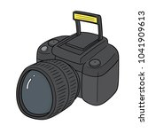 vector of camera | Shutterstock .eps vector #1041909613