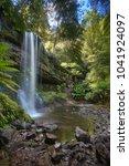 Small photo of Russle Falls Tasmanian Waterfall