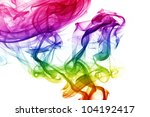wave and smoke of different... | Shutterstock . vector #104192417