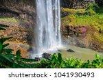 tad katamtok waterfall in the... | Shutterstock . vector #1041930493