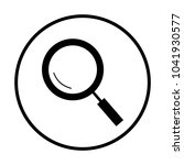 magnifying glass icon   Shutterstock .eps vector #1041930577