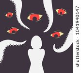 harassment vector illustration  ... | Shutterstock .eps vector #1041940147