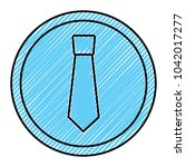 retro label fashion necktie for ...   Shutterstock .eps vector #1042017277