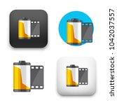flat vector icon   illustration ... | Shutterstock .eps vector #1042037557