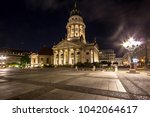view on german cathedral on... | Shutterstock . vector #1042064617