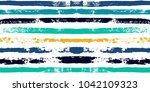 paint lines seamless pattern.... | Shutterstock .eps vector #1042109323