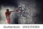 strong enough to challenge it....   Shutterstock . vector #1042153303