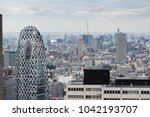 tokyo  japan   october 17  2017 ... | Shutterstock . vector #1042193707