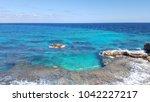 isla mujeres amazing colors ...   Shutterstock . vector #1042227217