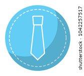 retro label fashion necktie for ...   Shutterstock .eps vector #1042257517