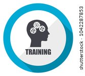 training blue flat design web... | Shutterstock . vector #1042287853
