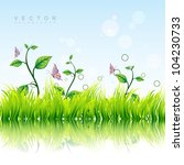beautiful colorful nature... | Shutterstock .eps vector #104230733