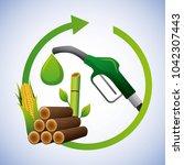 biofuel ecology alternative   Shutterstock .eps vector #1042307443