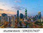 panama city  panama   february... | Shutterstock . vector #1042317637