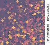 rhombus violet minimal... | Shutterstock .eps vector #1042335367