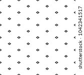 seamless pattern with diamonds... | Shutterstock .eps vector #1042341517