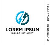 creative logo design concept... | Shutterstock .eps vector #1042344457