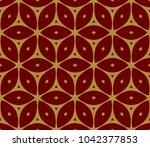decorative seamless geometric... | Shutterstock .eps vector #1042377853