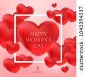 womens day vector illustration | Shutterstock .eps vector #1042394317