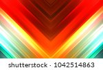 abstract shining geometric... | Shutterstock . vector #1042514863