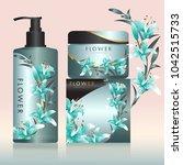 packaging cosmetic beauty...   Shutterstock .eps vector #1042515733