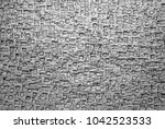 old letterpress blocks... | Shutterstock . vector #1042523533