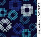 seamless geometric pattern. the ...   Shutterstock .eps vector #1042558993