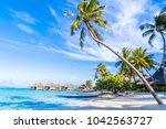 bora bora island  french... | Shutterstock . vector #1042563727