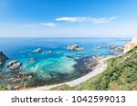 a superb view of the cape of... | Shutterstock . vector #1042599013