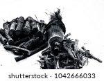 ayurvedic herb liquorice root... | Shutterstock . vector #1042666033