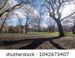 st james park  london in spring ... | Shutterstock . vector #1042673407