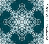 mandala seamless pattern....   Shutterstock .eps vector #1042710517