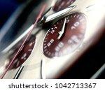 analog watch closeups | Shutterstock . vector #1042713367